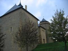 Ruines du château de Mensberg, dit aussi château de Malbrouck -