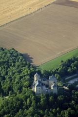 Ruines du château de Mensberg, dit aussi château de Malbrouck - Français:   Le château de Malbrouck