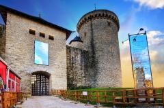 Ruines du château de Mensberg, dit aussi château de Malbrouck -  Château de Malbrouck