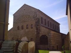 Ancienne abbaye Saint-Pierre -  Metz abbaye saint pierre aux Nonnains.
