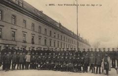 Caserne Ney ou caserne du Génie - Deutsch: Die Kaiser Wilhelm-Kaserne in Metz (Caserne Ney)