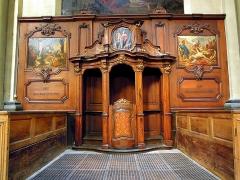 Eglise Notre-Dame - Confessionnal 18e.