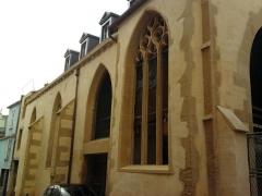 Ancienne église Saint-Etienne-le-Dépensié ou Dépenné - English: Saint-Etienne-le-Dépenné church in Metz (Outre-Seille).