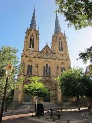 Eglise Sainte-Ségolène -  eglise Sainte Segolene Metz