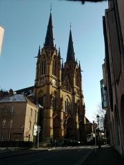 Eglise Sainte-Ségolène - English: Sainte Ségolène church in Metz, Moselle (France)