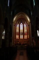 Eglise Sainte-Ségolène - English: Chor of St-Ségolène church in Metz (Lorraine, France)