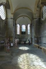Eglise des Trinitaires - Deutsch: Metz, Ehemalige Trinitarierkirche, Straßenecke Bibliothekstraße/Trinitarierstraße (Rue du Haut Poirier/Rue des Trinitaires), Inneres mit Blick zur Apsis,