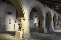 Ancien grenier connu sous le nom de Grange de Chèvremont - Deutsch: Grange de Chèvremont (Speicher) im Musée de la Cour d'Or in Metz im Département Moselle (Region Alsace-Champagne-Ardenne-Lorraine/Frankreich)