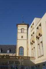 Ancien hospice Saint-Nicolas - English: Former belltower of the Saint-Nicolas hospital chapel in Metz (19th century)