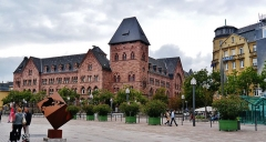 Hôtel des Postes - Deutsch: Alte Post, Metz, Département Moselle, Region Lothringen (heute Grand Est), Frankreich