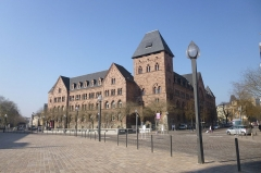 Hôtel des Postes - English: Post centre of Metz, Moselle (France)