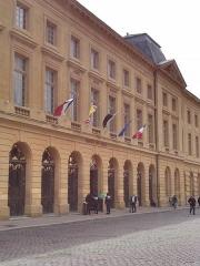 Hôtel de ville - Deutsch: Ehemaliges Rathaus von Metz, heute dient es als Museum wo regelmäßig Ausstellungen stattfinden.