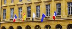 Hôtel de ville - Deutsch: Fassade des Rathauses von Metz zum Place d'Armes hin