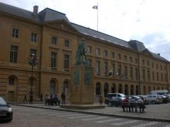 Hôtel de ville - Italiano: Metz, Municipio, 1776-81