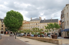 Maisons - Deutsch: Place Saint-Louis in Metz