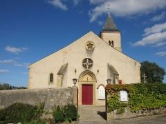 Eglise -  eglise sainte Brigide de Plappeville