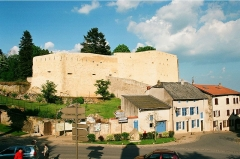 Anciennes fortifications - English: Rodemack, the fortress