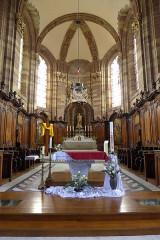 Eglise Saint-Nabor - Deutsch: Ehemalige Abteikirche St. Nabor (St. Avold), Chorbereich