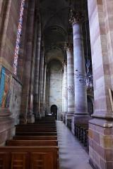 Eglise Saint-Nabor - Deutsch: Ehemalige Abteikirche St. Nabor (St. Avold), Seitenschiff