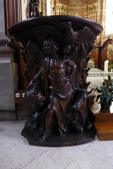 Eglise Saint-Nabor - Deutsch: Ehemalige Abteikirche St. Nabor (St. Avold), Ehemaliger Kanzelfuß