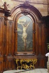Eglise Saint-Nabor - Deutsch: Ehemalige Abteikirche St. Nabor (St. Avold), Gemälde in der Apsis