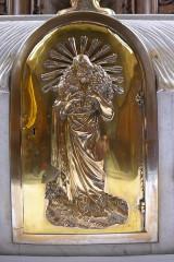 Eglise Saint-Nabor - Deutsch: Ehemalige Abteikirche St. Nabor (St. Avold), Tabernakeltür