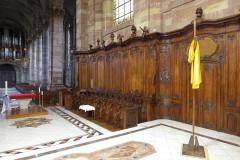 Eglise Saint-Nabor - Deutsch: Ehemalige Abteikirche St. Nabor (St. Avold), Chorgestühl