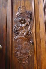Eglise Saint-Nabor - Deutsch: Ehemalige Abteikirche St. Nabor (St. Avold), Reliefschnitzerei