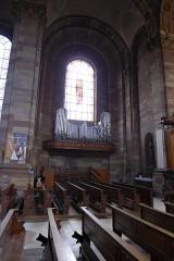 Eglise Saint-Nabor - Deutsch: Ehemalige Abteikirche St. Nabor (St. Avold), Orgel