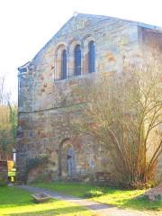 Restes de l'abbaye de Villers-Bettnach - English: Villers Bettnach chapel ste catherine