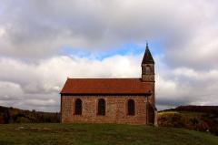Chapelle Haute du pèlerinage - Deutsch: Haute-Chapelle de Saint-Quirin (Außenansicht)