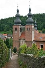Ancien prieuré -  Eglise priorale de Saint-Quirin