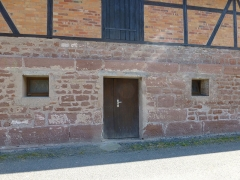 Verrerie de Lettenbach - Français:   Lettenbach (Saint-Quirin, Moselle): vestiges de l\'ancienne verrerie (soubassement uniquement)