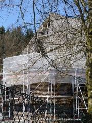Verrerie de Lettenbach - Français:   Lettenbach (Saint-Quirin, Moselle): chapelle des Verriers en cours de rénovation