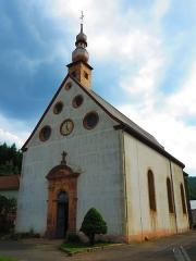 Verrerie de Lettenbach - Français:   St Quirin Lettenbach chapelle verrerie
