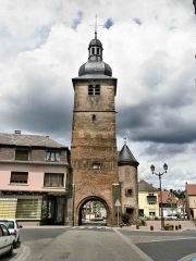 Fortifications - English: Porte d'Albe in Sarralbe