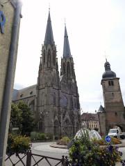 Fortifications - Deutsch: Sarralbe, Kathedrale und Befestigung