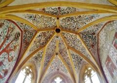 Eglise Saint-Martin - Deutsch: Chorgewölbe von St. Martin, Sillegny, Département Mosel, Region Lothringen (heute Großer Osten), Frankreich