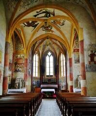 Eglise Saint-Martin - Deutsch: Langhaus von St. Martin, Sillegny, Département Mosel, Region Lothringen (heute Großer Osten), Frankreich