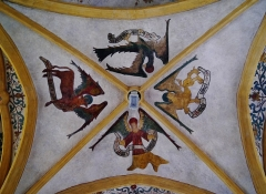 Eglise Saint-Martin - Deutsch: Vierung von St. Martin, Sillegny, Département Mosel, Region Lothringen (heute Großer Osten), Frankreich
