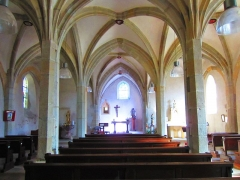 Eglise - English: Valmunster church indoor