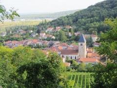 Eglise Saint-Rémy -  vue de Vaux Moselle