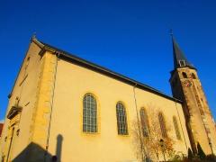 Chapelle Saint-Etienne de l'Ordre Teutonique, actuellement église paroissiale Saint-Martin -  église Cattenom