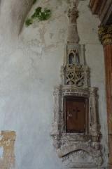 Eglise - Deutsch: Tabernakel im Chor der Kirche St. Brice in Autreville