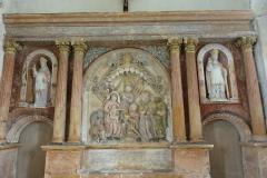 Eglise - Deutsch: Altar der Kirche St. Brice in Autreville