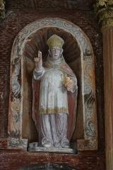 Eglise - Deutsch: Statue des hl. Nikolaus in der Kirche St. Brice in Autreville