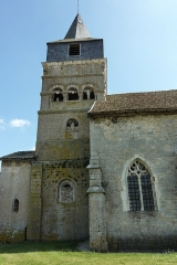 Eglise - Deutsch: Kirche St. Brice in Autreville