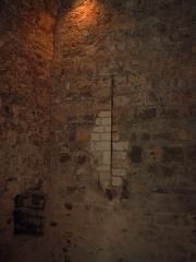 Forteresse -  archère de chatel/moselle période avant artillerie