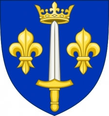 Maison de Jeanne d'Arc - English: Coat of Arms of Domrémy-la-Pucelle