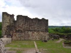 Château - Français:   Ruines du château d'Épinal.